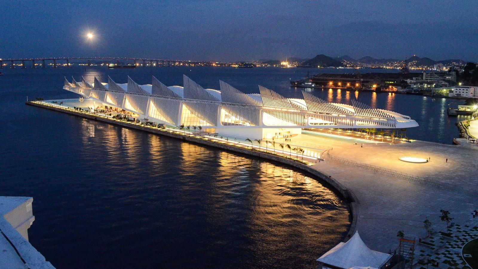 Iluminação Museu do Amanhã