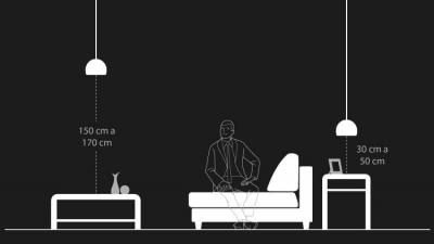 Descubra a altura ideal do pendente em diversos usos e cômodos da casa