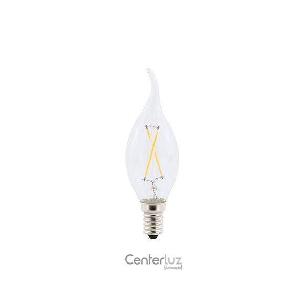 Lâmpada LED Vela Chama