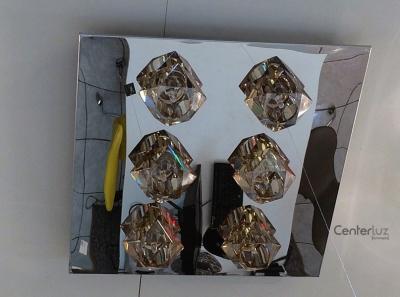 Plafon Cristal Conhaque